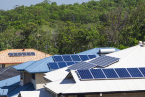 Solar powered homes in Vancouver